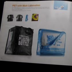 Brochurer med vareprøver