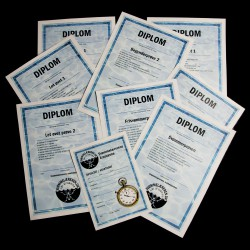Diplomer med logo tryk