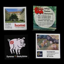 Reklamemagneter med logo tryk - mest solgte