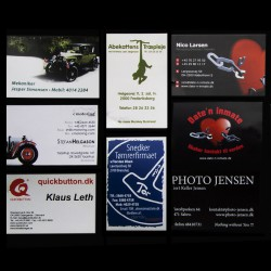 Visitkort med logo tryk