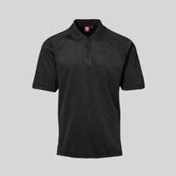 Active polo t-shirts med tryk og broderi