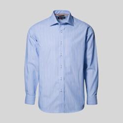 Herreskjorte med tryk og broderi