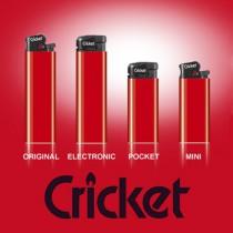 Cricket lightere med reklame tryk