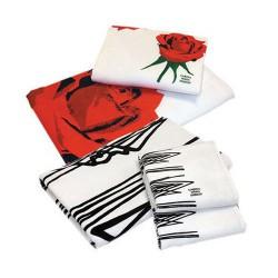 Håndklæder med tryk, Min. 100 enheder.