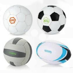 Fodbolde, volleybolde & rugbybolde med logo tryk