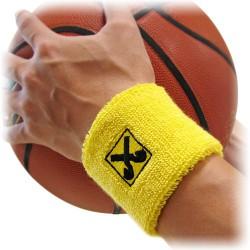 Broderet armbånd med reklame logo