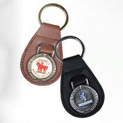 Golf nøgleringe med logo tryk