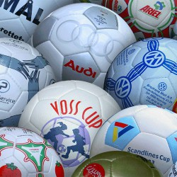 Fodbolde & håndbolde med logo tryk