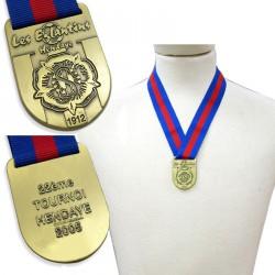 Medaljer med logo præg & tryk