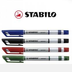 Stabilo finelinere med logo tryk