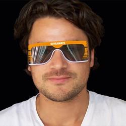 Roll-up solbriller med reklame logo tryk