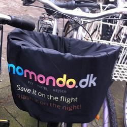 Cykelkurv betræk med reklametryk