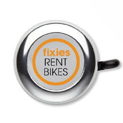 Cykel ringeklokker med logo tryk