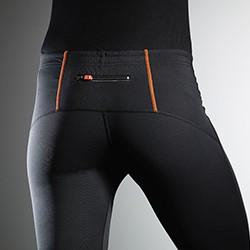Shorts, løbetights og div. bukser med tryk og broderi