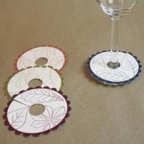 Drypfanger til glas med logo tryk