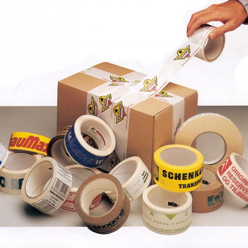 Emballage tape med reklametryk