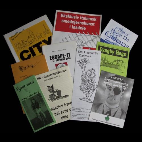 Brochurer med tryk