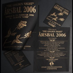 Invitationer & entrebilletter med logo tryk