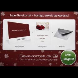 SuperGavekortet til alverdens butikker & kæder