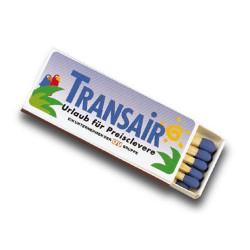 Tændstikker med reklame logo tryk