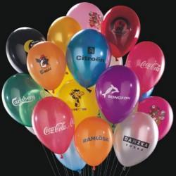 Balloner med reklame logo tryk