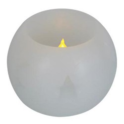 LED Stearinlys med logo tryk