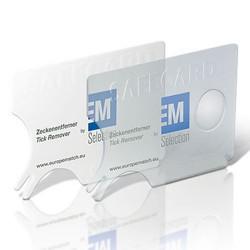 Safecard & tægefjerner med tryk