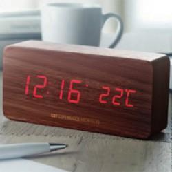 Digital ure med logo tryk