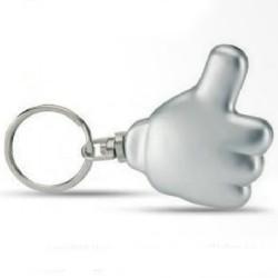 Sjove nøgleringe med logo tryk