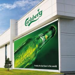 Bannere til ophængning med reklame