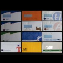 Kuverter med reklame logo tryk