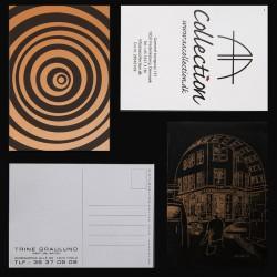 Postkort med logo tryk