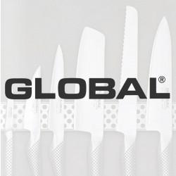 Global knive med reklame logo