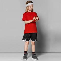 Børne shorts med logo tryk