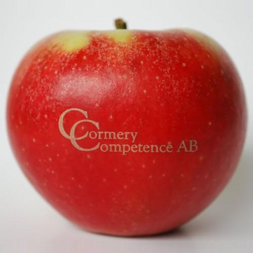 Æbler med logo