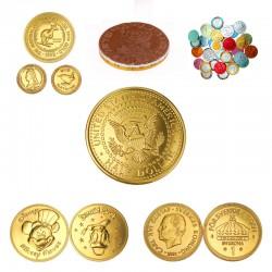 Reklame chokolademønter med logopræg