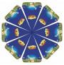 Parasoller med logo tryk