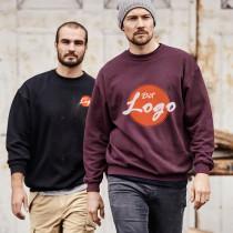 SWEATSHIRTS MED LOGO TRYK - mest solgte