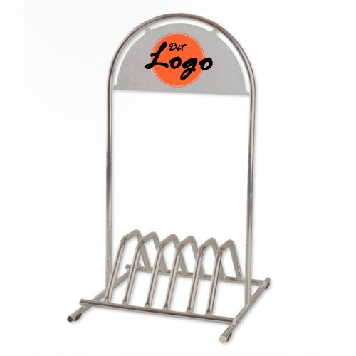 Cykelstativer med logo tryk