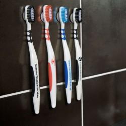 Tandbørster med reklame