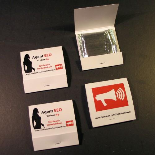 Kondomer med reklametryk