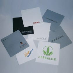 Servietter med reklame logo tryk