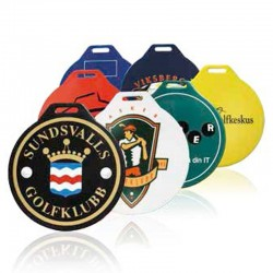 Golfbagmærker med logo tryk