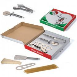 Pizza & pasta sæt med logo tryk