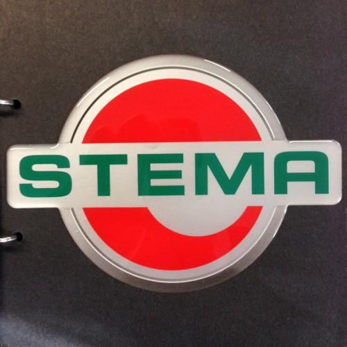 Logotops og logoplates med tryk