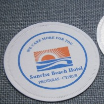 Drinksbrikker med logo tryk