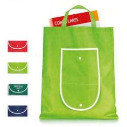 Sammenfoldelige indkøbsposer med tryk