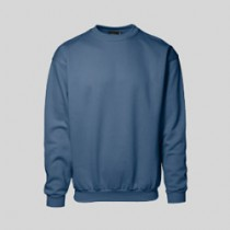 Sweatshirts med rund hals og logo