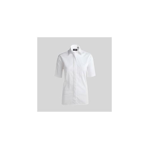 Kortærmede skjorter med tryk og broderi