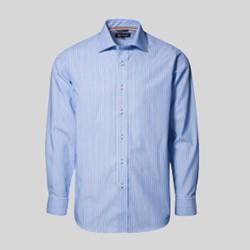Stribede skjorter med tryk og broderi